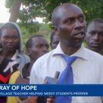 Village teacher helping needy students prosper