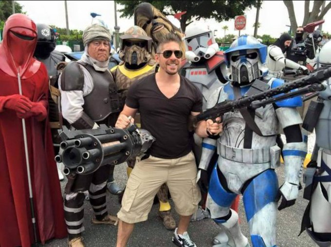 Happy Birthday to Honorary Member Ray Park ( May The Force Be With You!