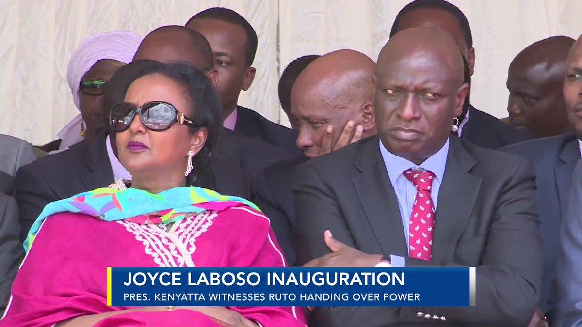 President Kenyatta witnesses Isaac Ruto handing over power