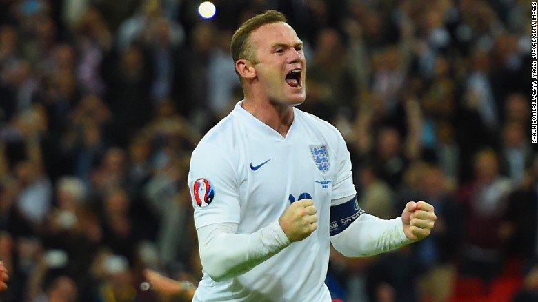England's all-time leading goalscorer Wayne Rooney retires from international football
