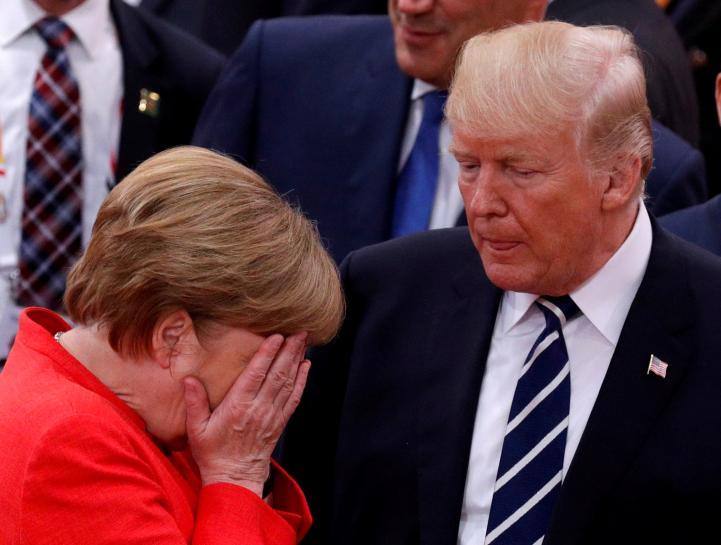 Merkel assuming leadership role in world of erratic strongmen https://t.co/ppnOQRLWIa https://t.co/7x5URdbnd0