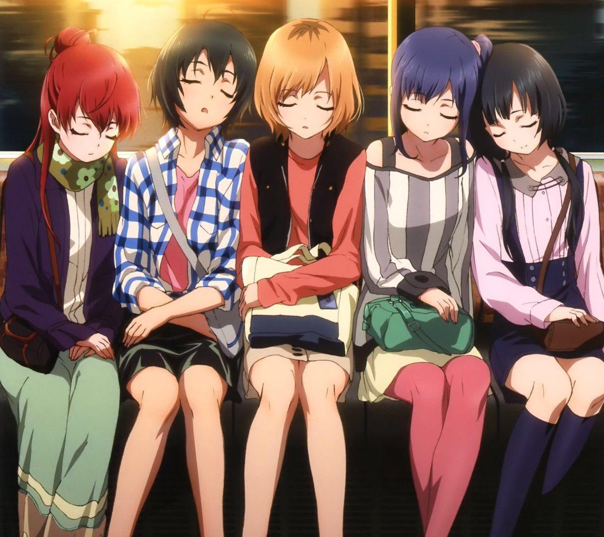『SHIROBAKO』自分の人生観を変えてくれたアニメ毎週感動してました:;(∩´﹏`∩);:特に新人声優としてばったり