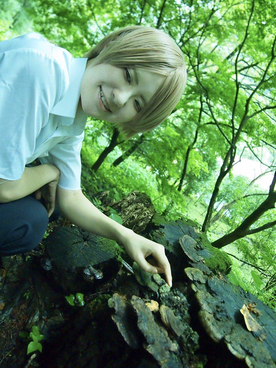 【Cosplay】夏目友人帳オフショっぽい感じきのこ生えてたんだよ〜夏目貴志:私Photo:咲( )