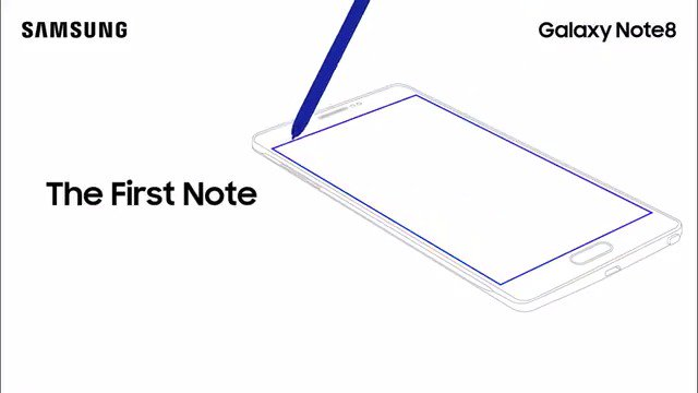 The phone that invented big just got bigger, with a 6.3' edge-to-edge display. #GalaxyNote8 https://t.co/a0J1nEqrZ9 https://t.co/DwkG45WRUH