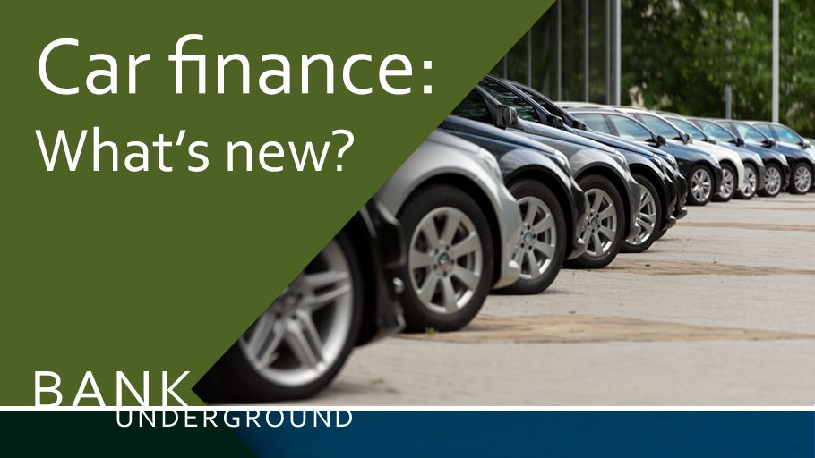12 months on from the last #BankUnderground report on car finance, what's new? https://t.co/O4Us6047kS https://t.co/4QV52zLsFQ