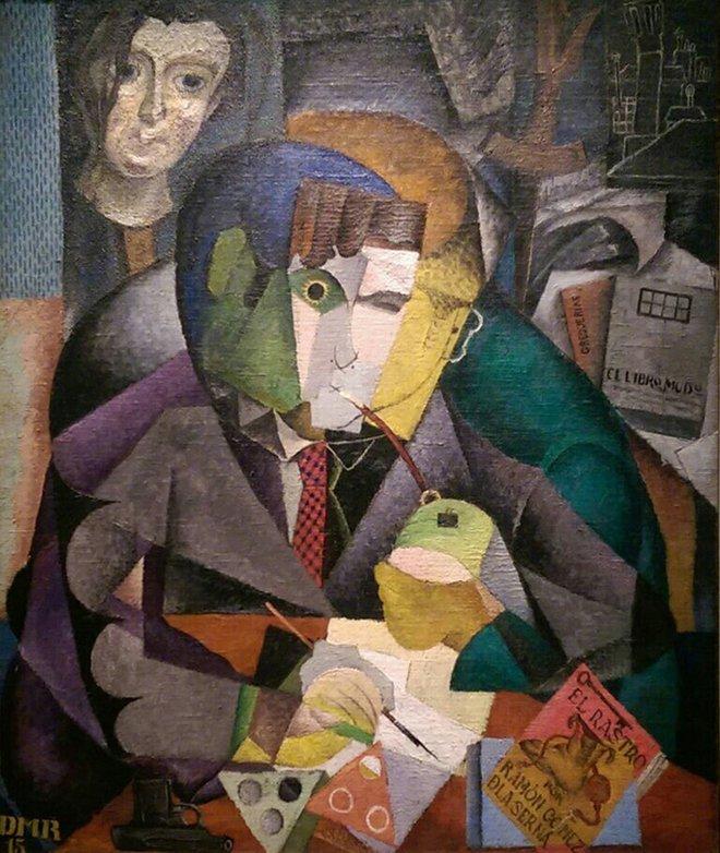 Portrait of Ramón Gómez de la Serna,Diego Rivera. https://t.co/jKgCjFbVBN