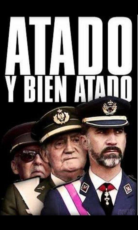 RT @Ferreru4: #SienteLaRepública DESPIERTA !!! 40 AÑOS DE MONARQUIA IMPUESTA POR UN ASESINO SON SUFICIENTES. https://t.co/aL7BXm3G3O