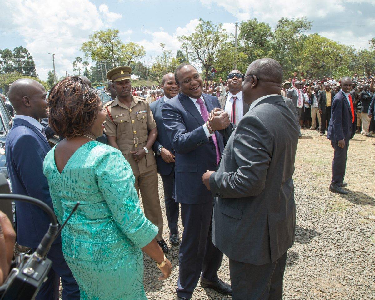 Quit NASA, Join JP, Uhuru urges Rutto