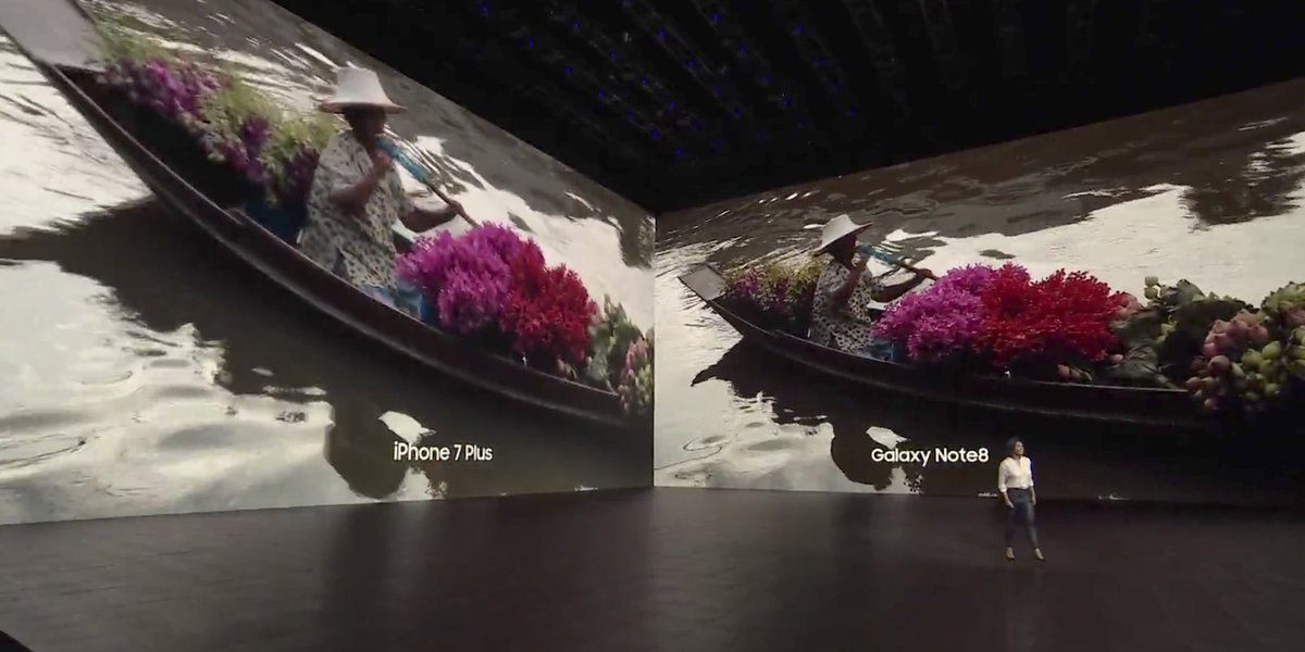 Samsung announces Galaxy Note 8, claims better OIS & Portrait Mode than...