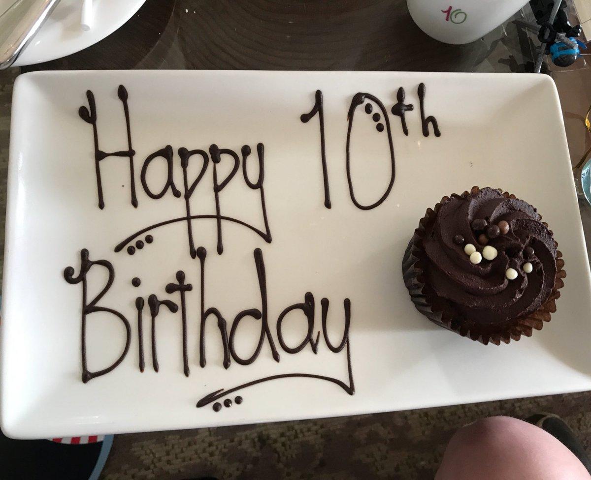 Delicious afternoon tea @TheGroveHotel celebrating my son's 10th birthday. https://t.co/MeQTB6EgV4