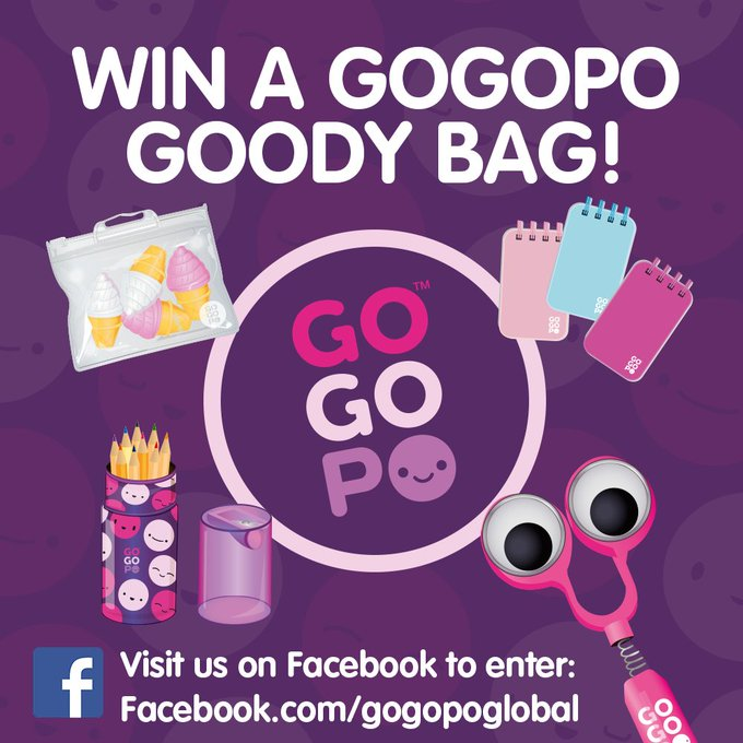 WIN a GOGOPO Goody Bag! Enter here!:  giveaway prizedraw freebie winitwednesday