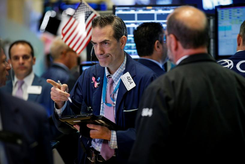 Wall Street drops on Trump's threats of government shutdown