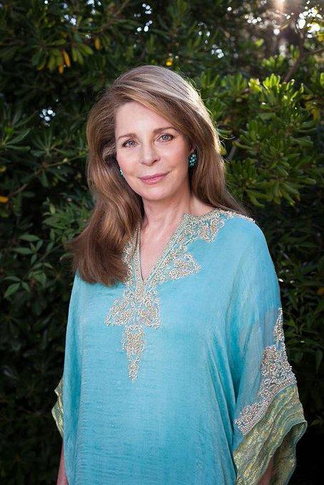 Happy Birthday Queen Noor of Jordan!