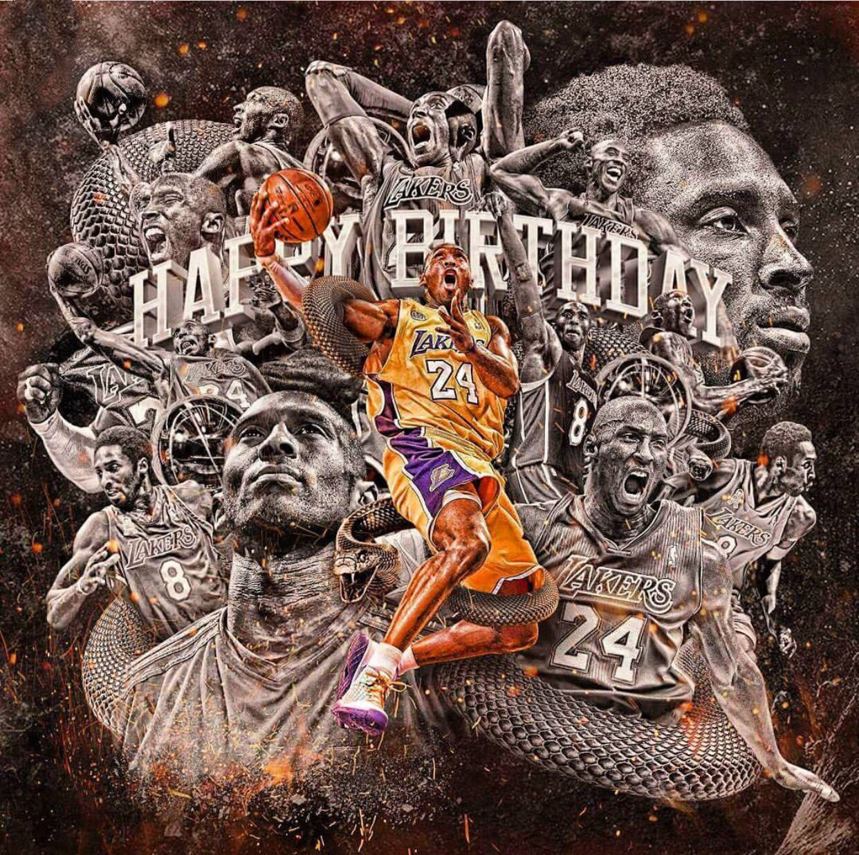 Happy Birthday to my favorite player of all time @KobeBryant https://t.co/8A9Z3YK7g1