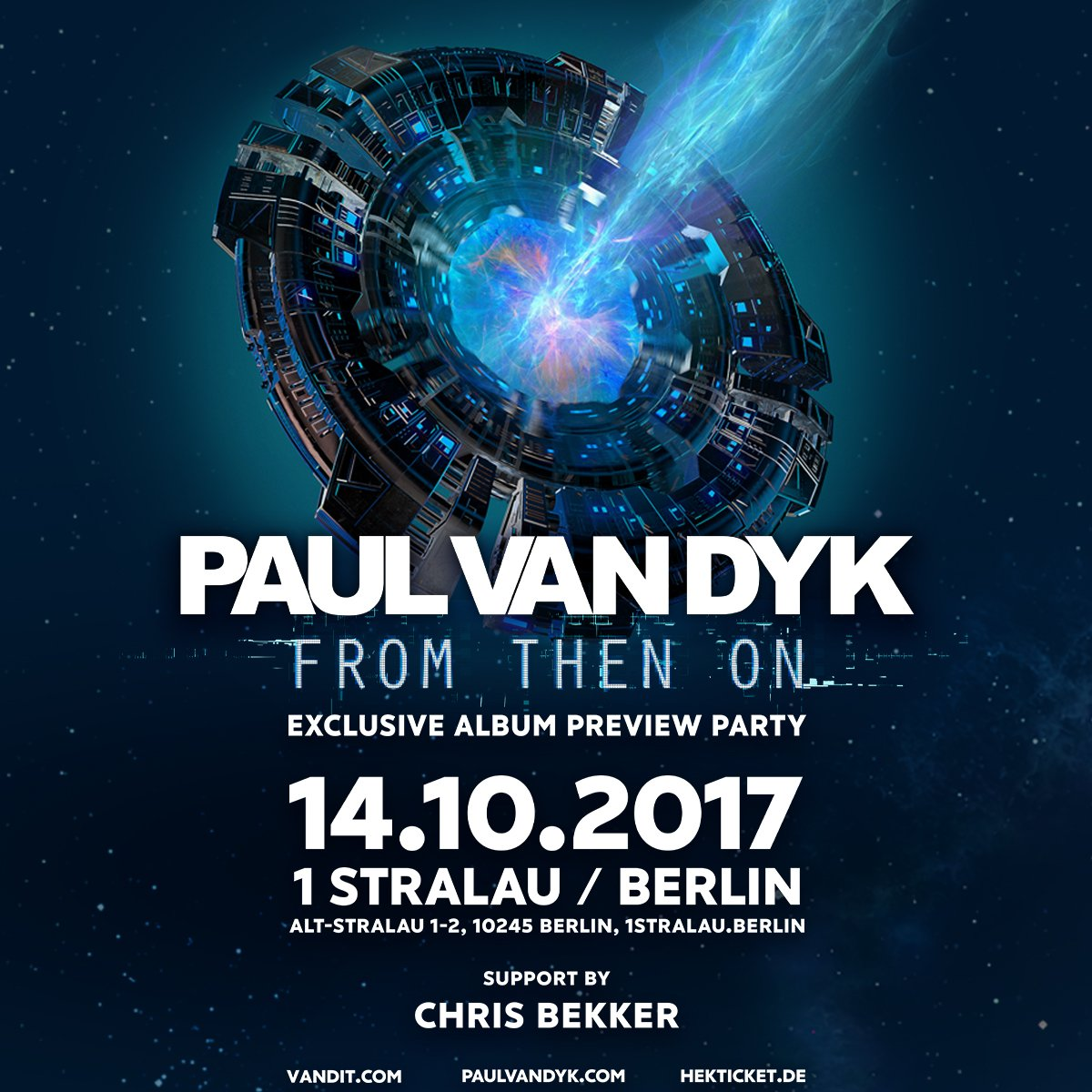 BERLIN - join me October 14th for an exclusive album preview event! #FromThenOn https://t.co/AOE0RDTUtv https://t.co/3LQokx7FyL