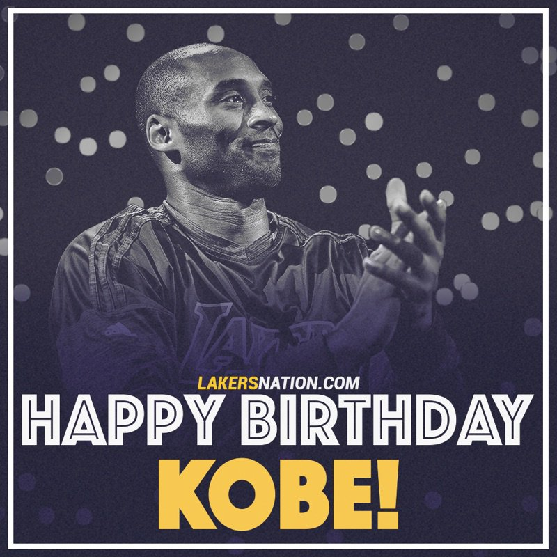 Happy Birthday to the legend himself, the GOAT @kobebryant https://t.co/hteE0apPGh