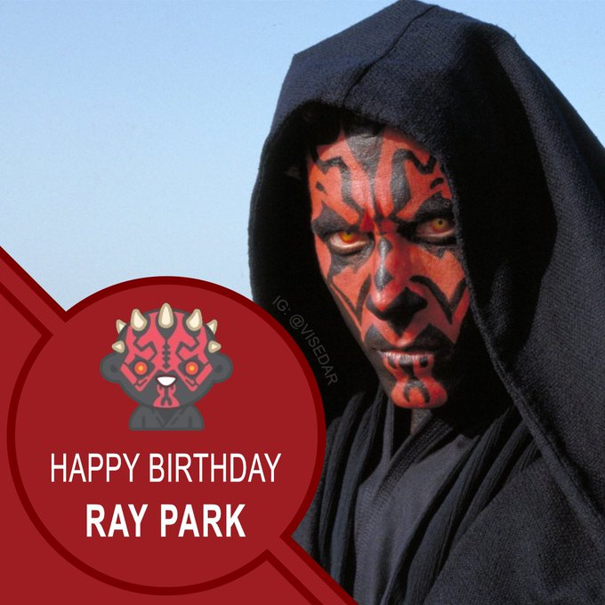 Happy Birthday to Ray Park aka aka