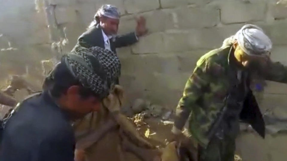 Saudi-led airstrikes hit Yemen hotel, killing at least 41