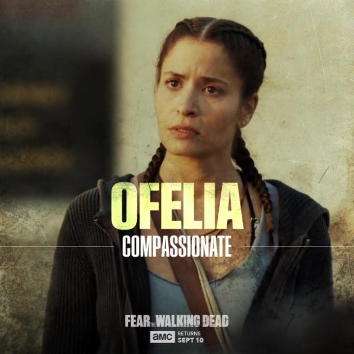 The apocalypse changes everyone. Ofelia is no exception. #FearTWD https://t.co/FcjcgBv2NT