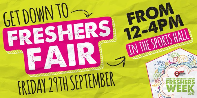 Are you coming to CSUFreshersWeek2017 Freshers Fair?