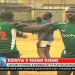 Captain K'opondo and Mukidza to play on Saturday vs Hong Kong