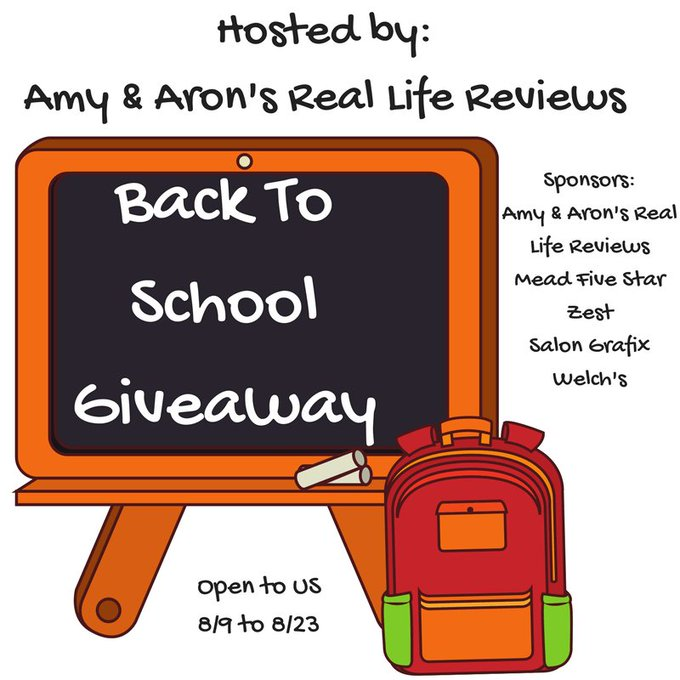 Back To School Giveaway (8/23 US)