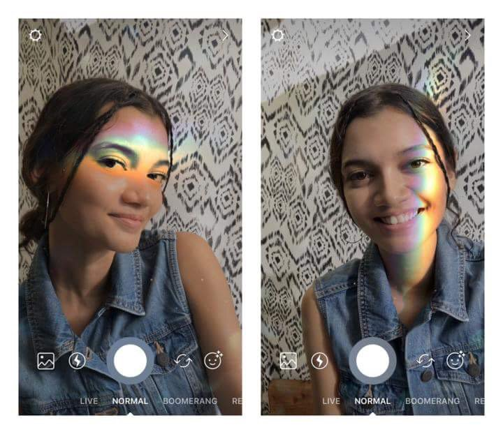 Tap on our new rainbow filter to brighten up your day �� https://t.co/Va0tdjJxwe