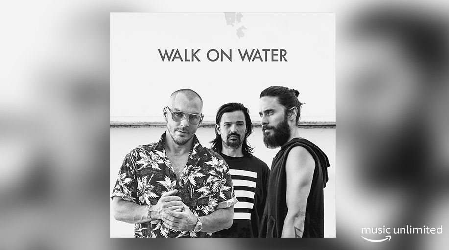 .@30SECONDSTOMARS is back! Hear their massive new track #WalkOnWater here ��  https://t.co/8QuUNuTdNp https://t.co/T2OzpmBM38