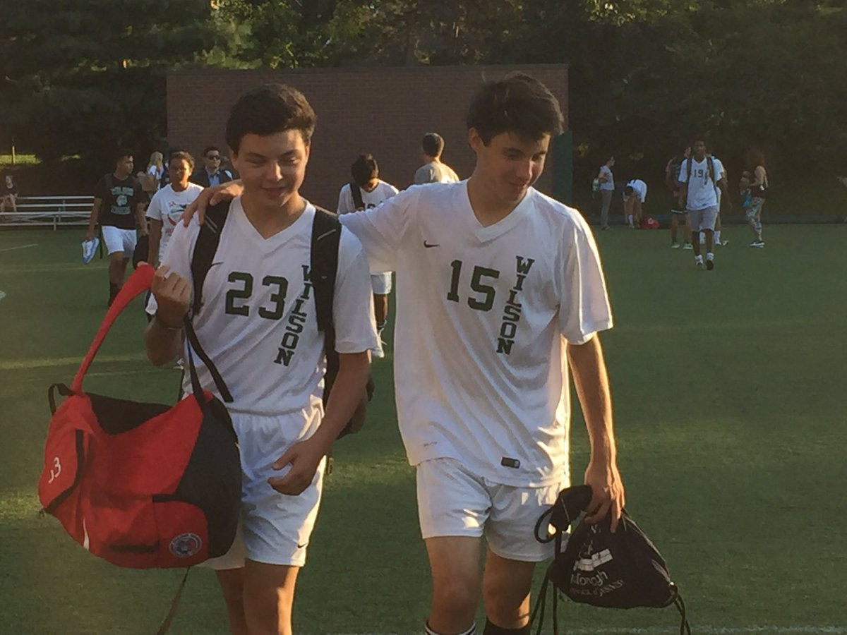 test Twitter Media - This week, he started High School, made the JV soccer team, started first scrimmage, and scored first goal. So - ok! You go #23! https://t.co/o4xdl10TGa