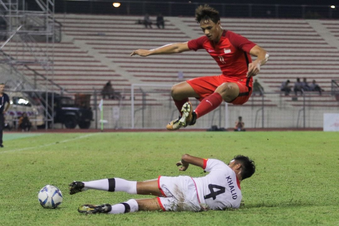 SEA Games: Singapore scrapes past Brunei in final match thanks to own goal