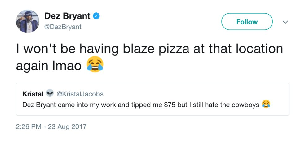Dez tried to be nice �� https://t.co/BeHgHctEwK https://t.co/ffaOyUMRrZ