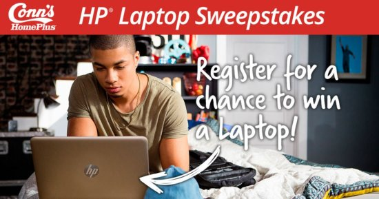 Win HP Envy Laptop Giveaway August 2017
