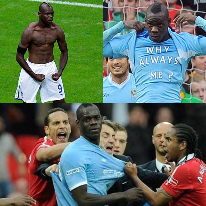 Happy Birthday Mario Balotelli Footballs Funny Man.