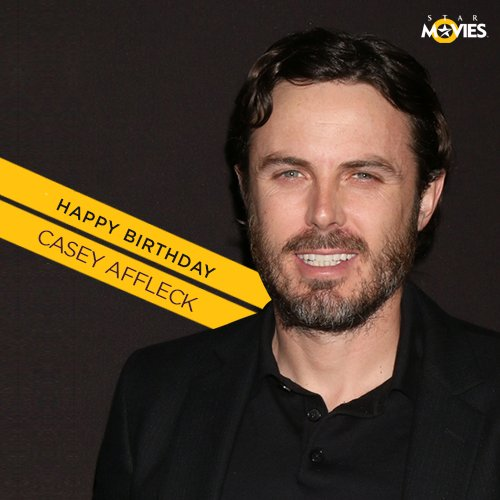 Happy birthday to Academy Award® winner, Casey Affleck!