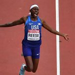 American Reese wins fourth world long jump gold