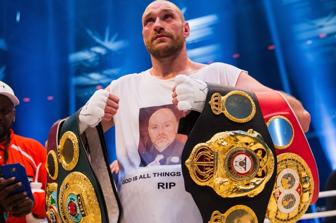 25 fights 25 wins  Happy birthday to the former heavyweight champion, Tyson Fury