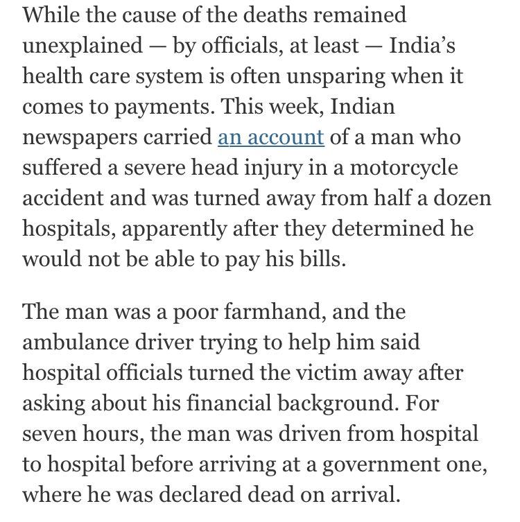30 Children Die in Indian Hospital Over 2 Days; Critics Cite Oxygen Shortage https://t.co/dGfnLWcLRU https://t.co/6FRsFmdzJA