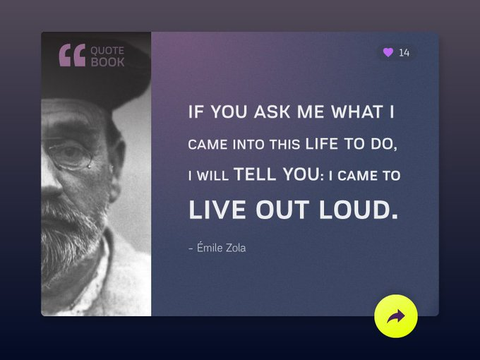 Quote Book - Share your favourite quotes in social   Template by imarun949 freebie