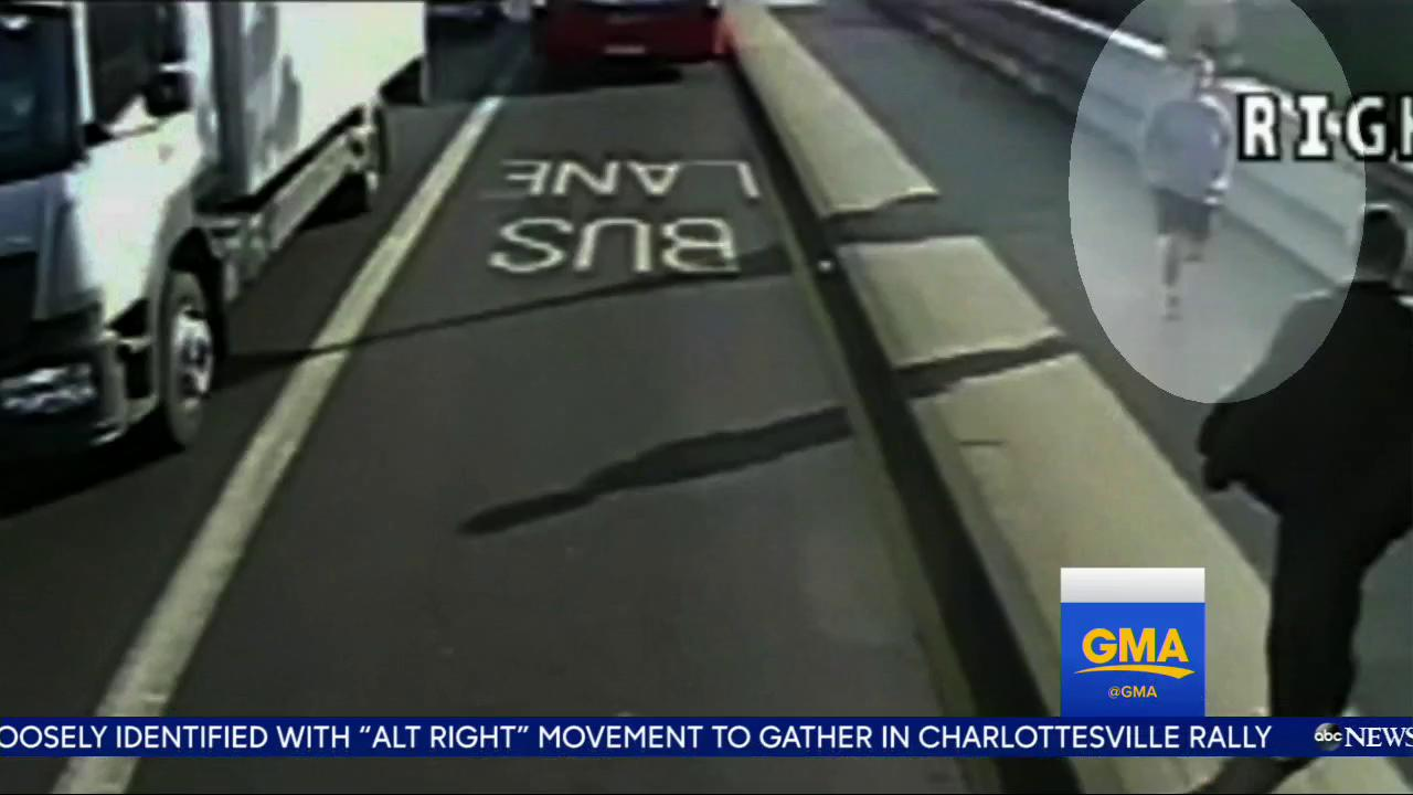 WATCH: Jogger seen shoving woman in front of bus; American banker denies involvement: https://t.co/sFsKDSgZhr https://t.co/f19cUrI6xw