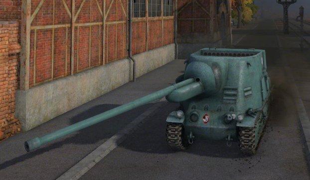 test ツイッターメディア - 「S35 CA」仏Tier5TD フランスの誇る前衛的便器。異常に偏った砲稼動域や蓮コラ弾薬庫等変態的要素でいっぱいだが、単発330の105mm砲は戦場で猛威を振るう。じゃけん車体に榴弾ぶち込みましょうね~~ https://t.co/598PAPgXRc