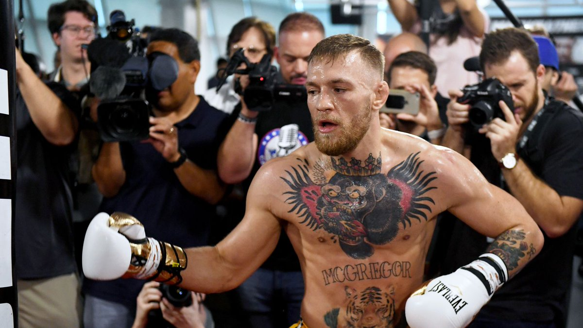 Midnight Mania! McGregor's rubber arms, press conference highlights and reaction https://t.co/b793hGlsna #mma #ufc https://t.co/djOmgo8gnI