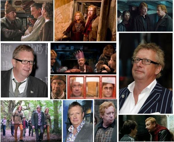 Happy 58th Birthday to Mark Williams! He played Arthur Weasley in the Harry Potter Films.