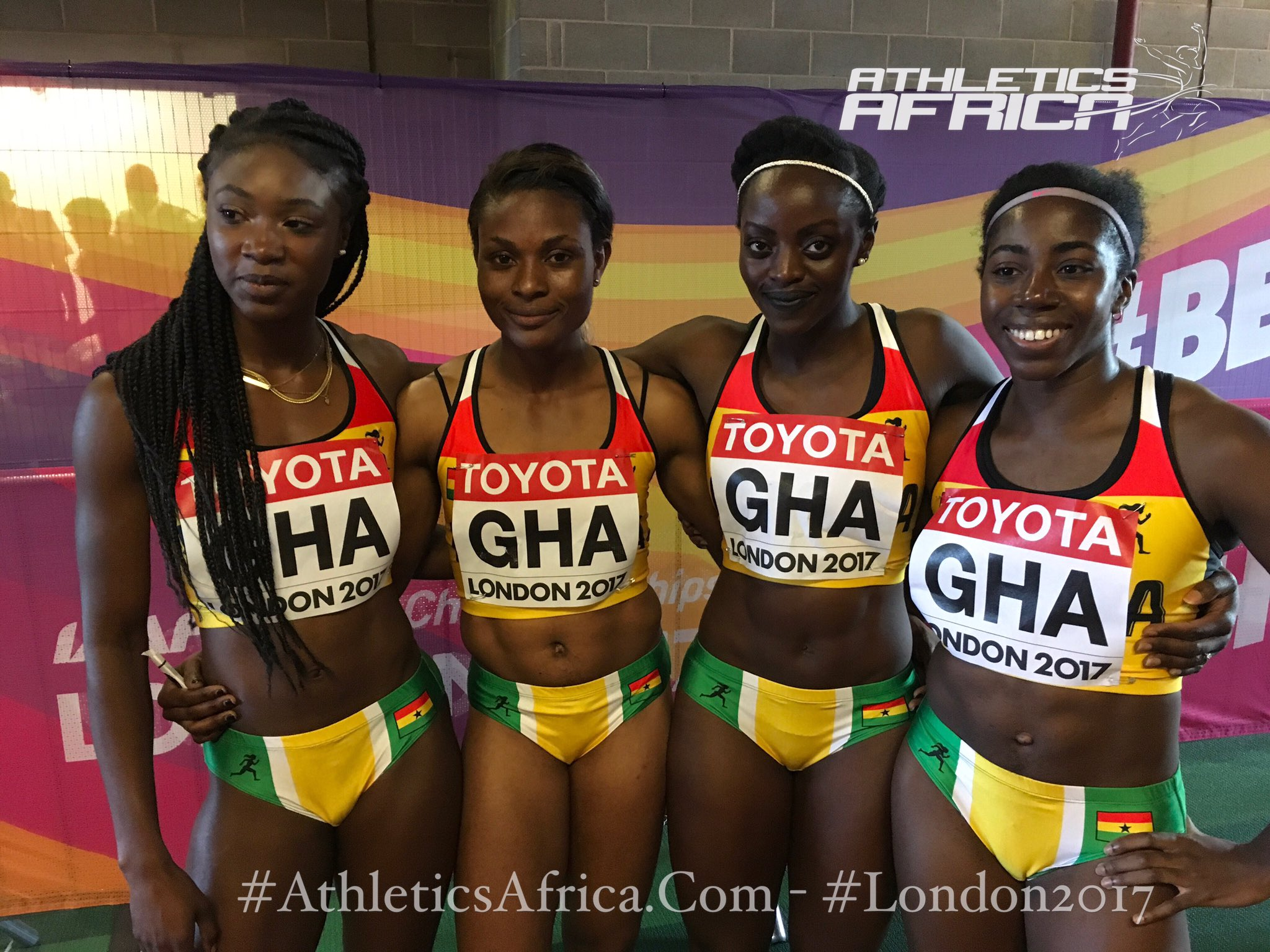 We just fnished a very interesting interview with the #Ghana's 🇬🇭women's 4x100m team.  😒the problem in #Africa athletics is continent wide. https://t.co/TN5shBWsEn