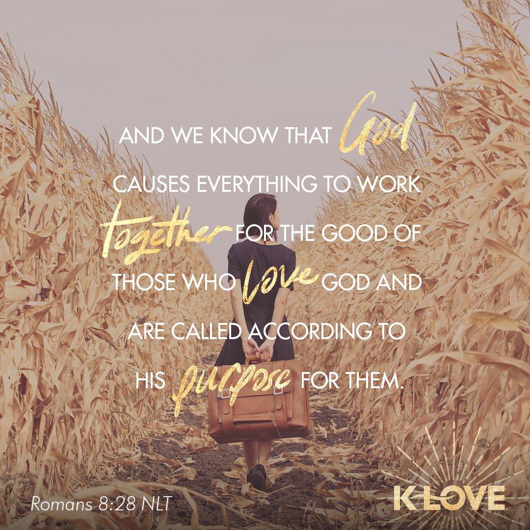 #VOTD #scripture #forthegood #called #purpose https://t.co/quGVfvrUiq