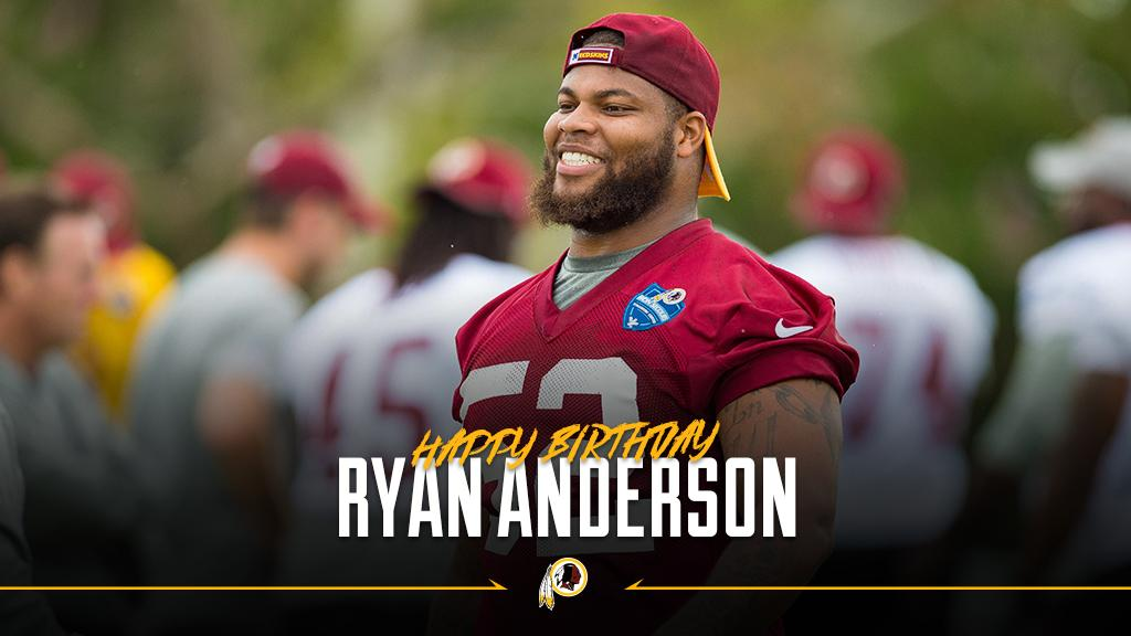 RT to wish @Anderson_365 a happy birthday! #HTTR https://t.co/EuaHLOJoJY