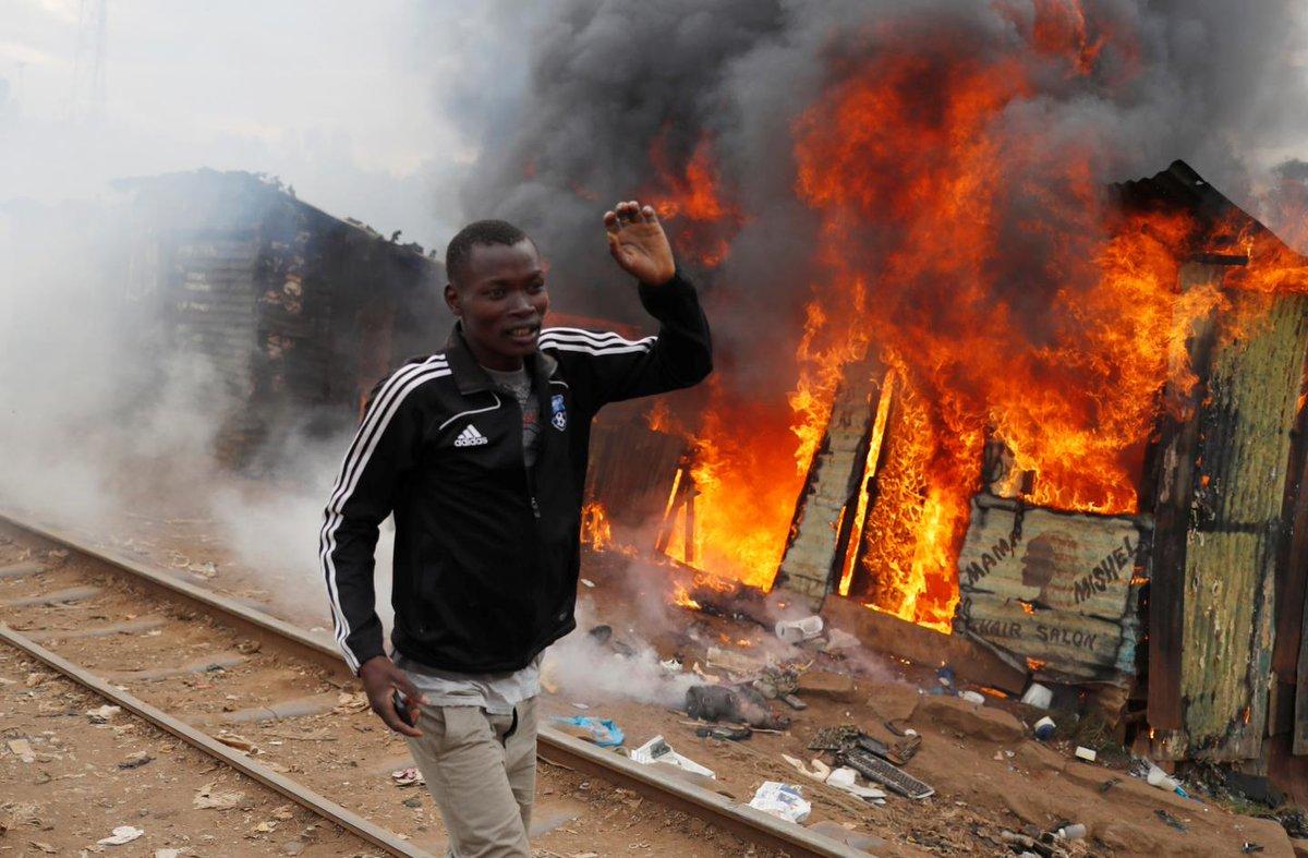 Post-election unrest in Kenya leaves eleven dead
