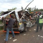 Eight dead after matatu crashes into lorry in Meru