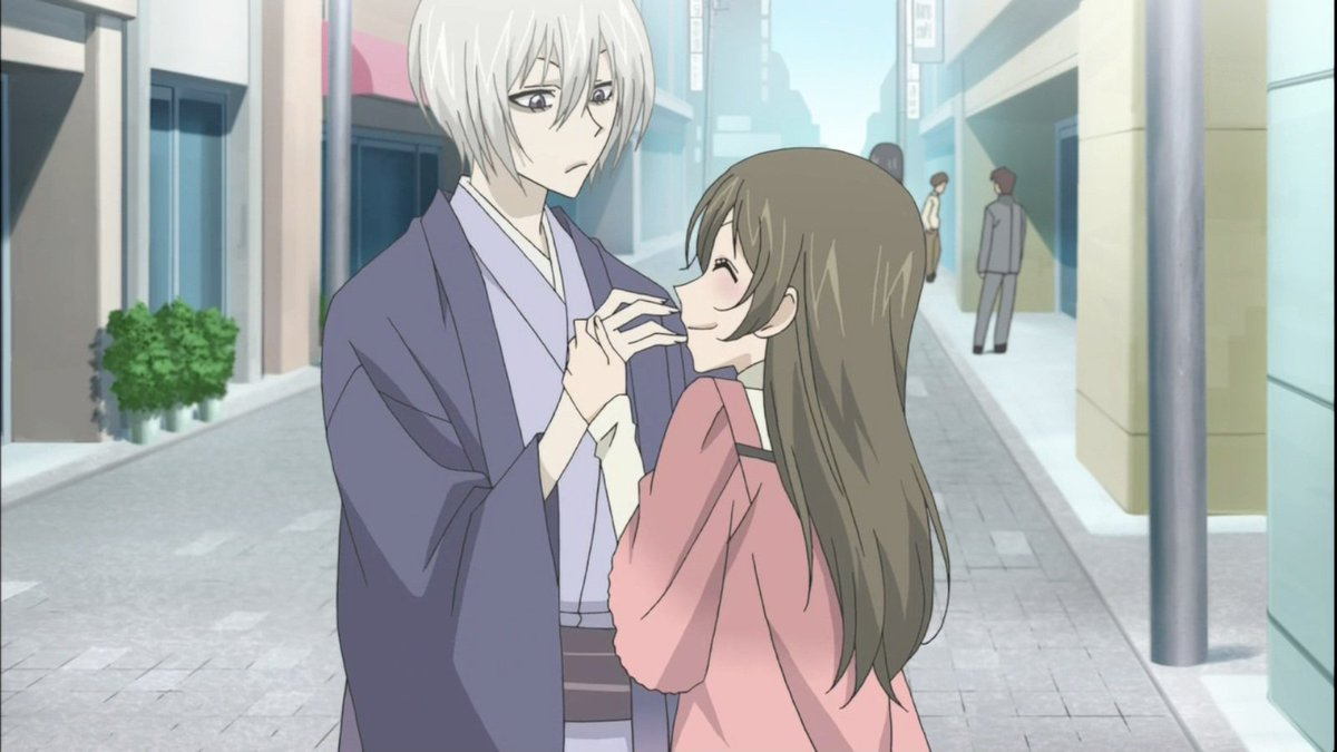 """As long as I can protect you, i'll be content"".— Tomoe (神様は"