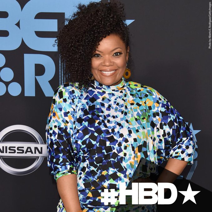 "Happy birthday to Yvette Nicole Brown who played ""Shirley Bivins\"" in"