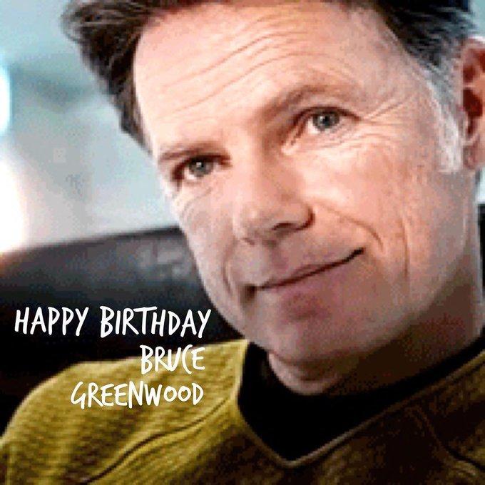 Wishing Bruce Greenwood a happy birthday!